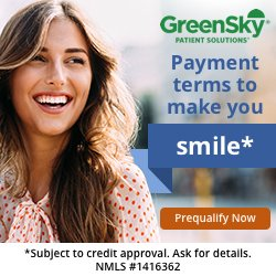 Finance your new smile with Greensky dental financing